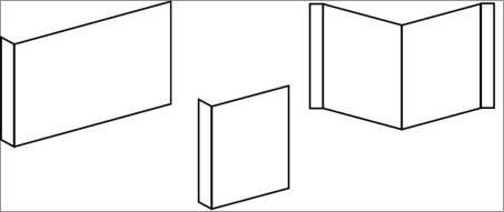 Fahnen und Winkelschilder Neutral