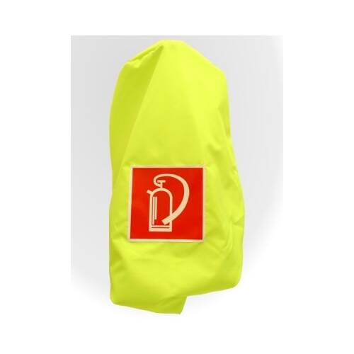 Feuerlöscher-schutzhauben Neongelb für Feuerlöscher 12 kg