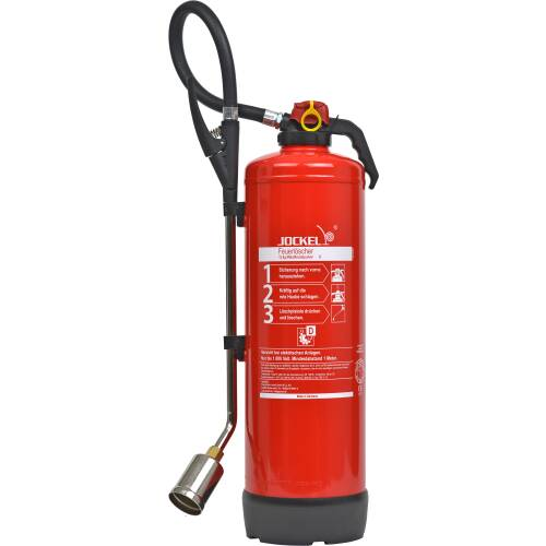 Metallbrand Pulver-Feuerlöscher 12 Kilo P12JX