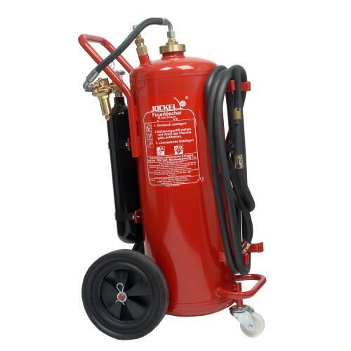 Fahrbarer Gel Feuerlöscher 50 Liter