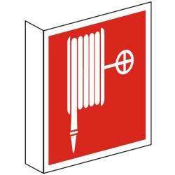 Brandschutzzeichen Fahnenschild Nasslöschposten BGV