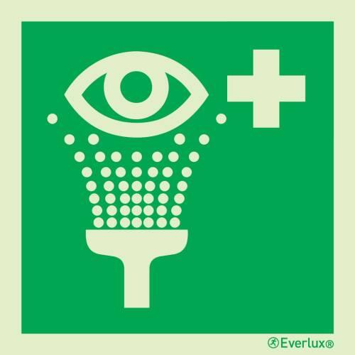 Augenspühleinrichtung - Symbole
