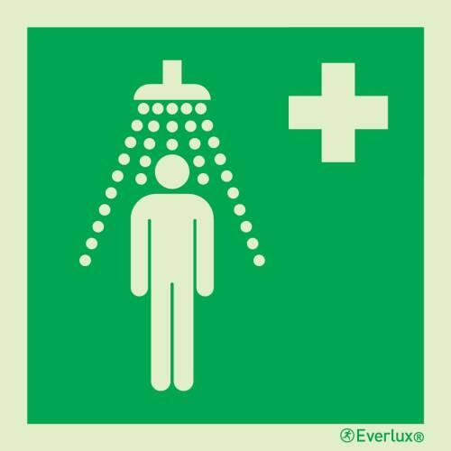 Personennotdusche - Symbole