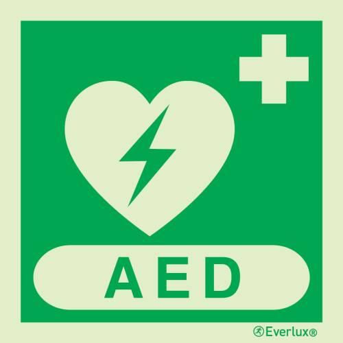 Defibrillator AED - Symbole