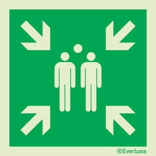 Sammelstelle - Symbole