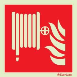 Brandschutzzeichen Löschschlauch