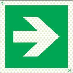 Rettungszeichen Reflektierend Symbole