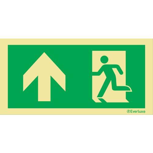 Flucht- und Rettungszeichen für Leuchten