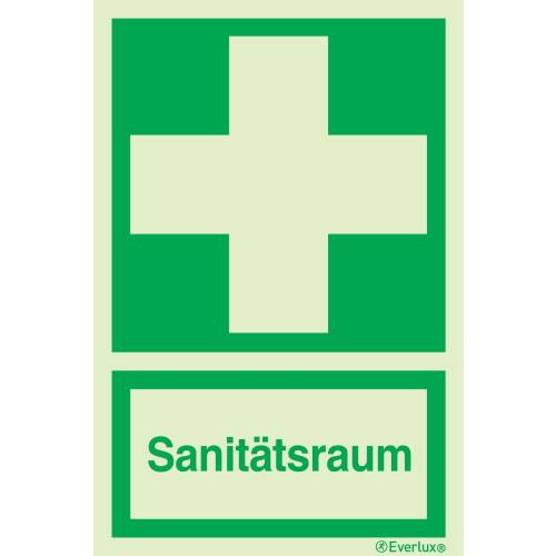 Sanitätsraum - Symbole