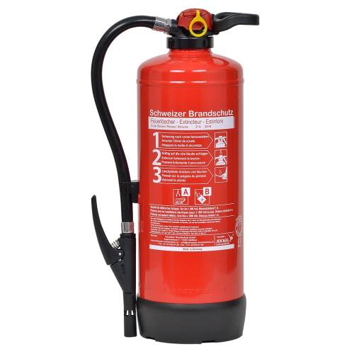 Schaum Feuerlöscher 9 Liter SK9J Bio27