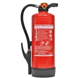 Schaum-Feuerlöscher 9 Liter S9FJ34 Frostsicher