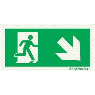 Rechts abwärts